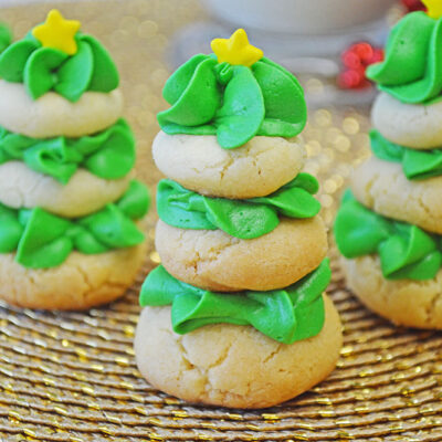 Stacked Sugar Cookie Christmas Tree Recipe
