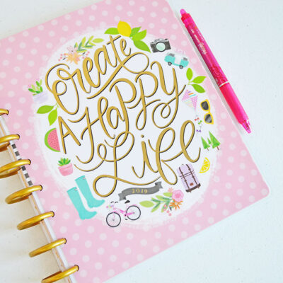 My 2019 Happy Planner | Classic Size