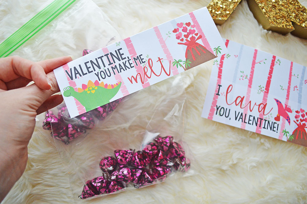Free Printable Valentines Class Gifts Toppers