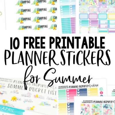 picture regarding Free Planner Sticker Printables called Cost-free Printable Stickers Archives - Designing Influenced