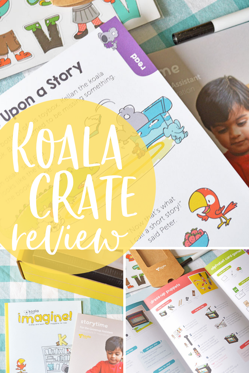 Koala Crate Review | Learning Box for Preschoolers