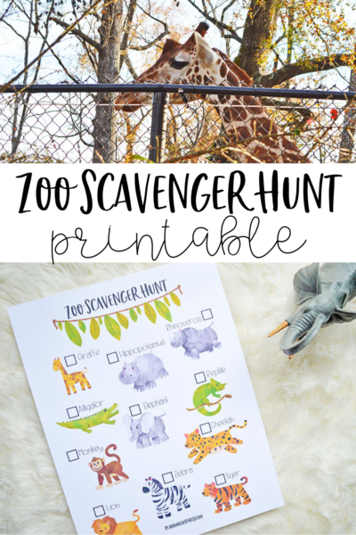 photograph regarding Zoo Scavenger Hunt Printable named Zoo Scavenger Hunt Printable - Developing Encouraged