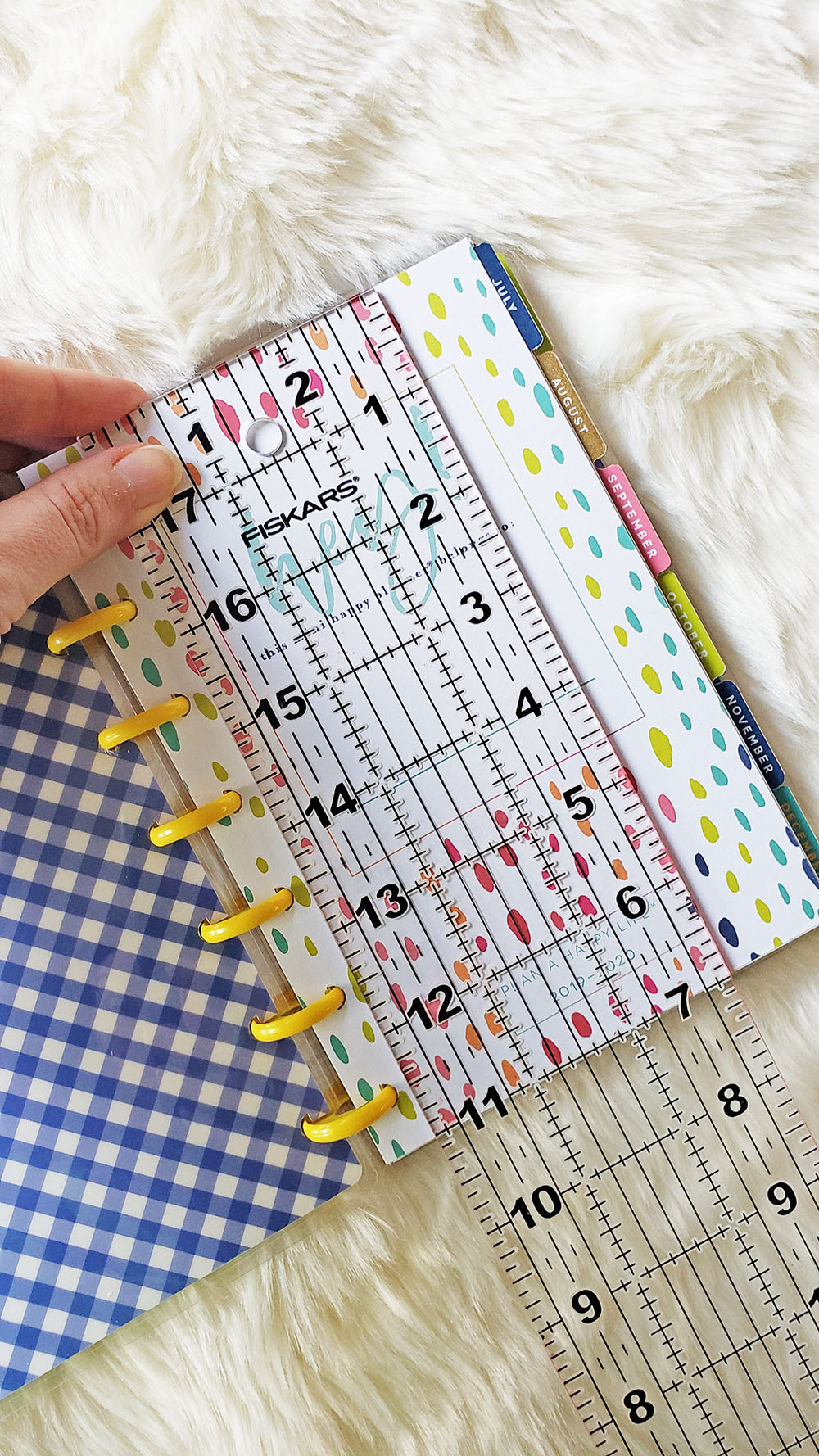Mini Happy Planner dimensions