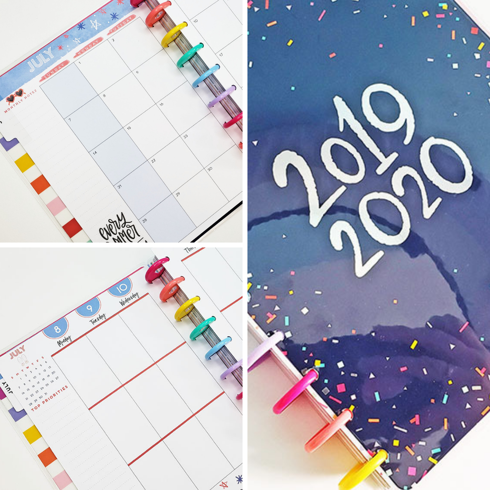 Happy Planner Setup 2019-2020