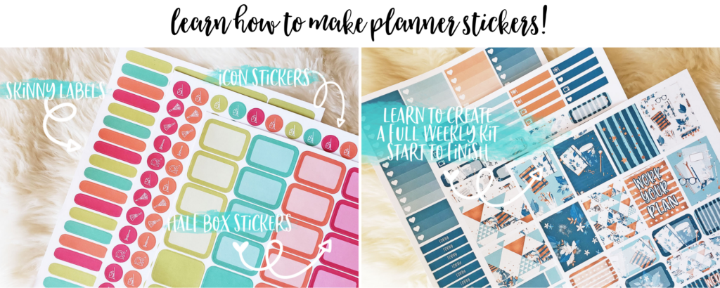 create your own planner stickers