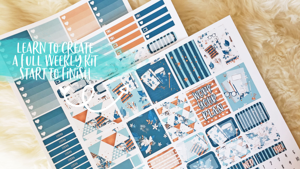 Create Your Own Planner Stickers Course