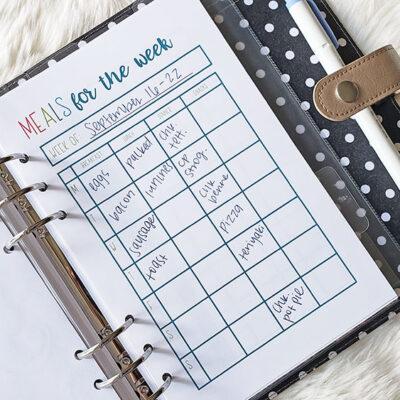 Weekly Meal Plan & Grocery Haul September 2019