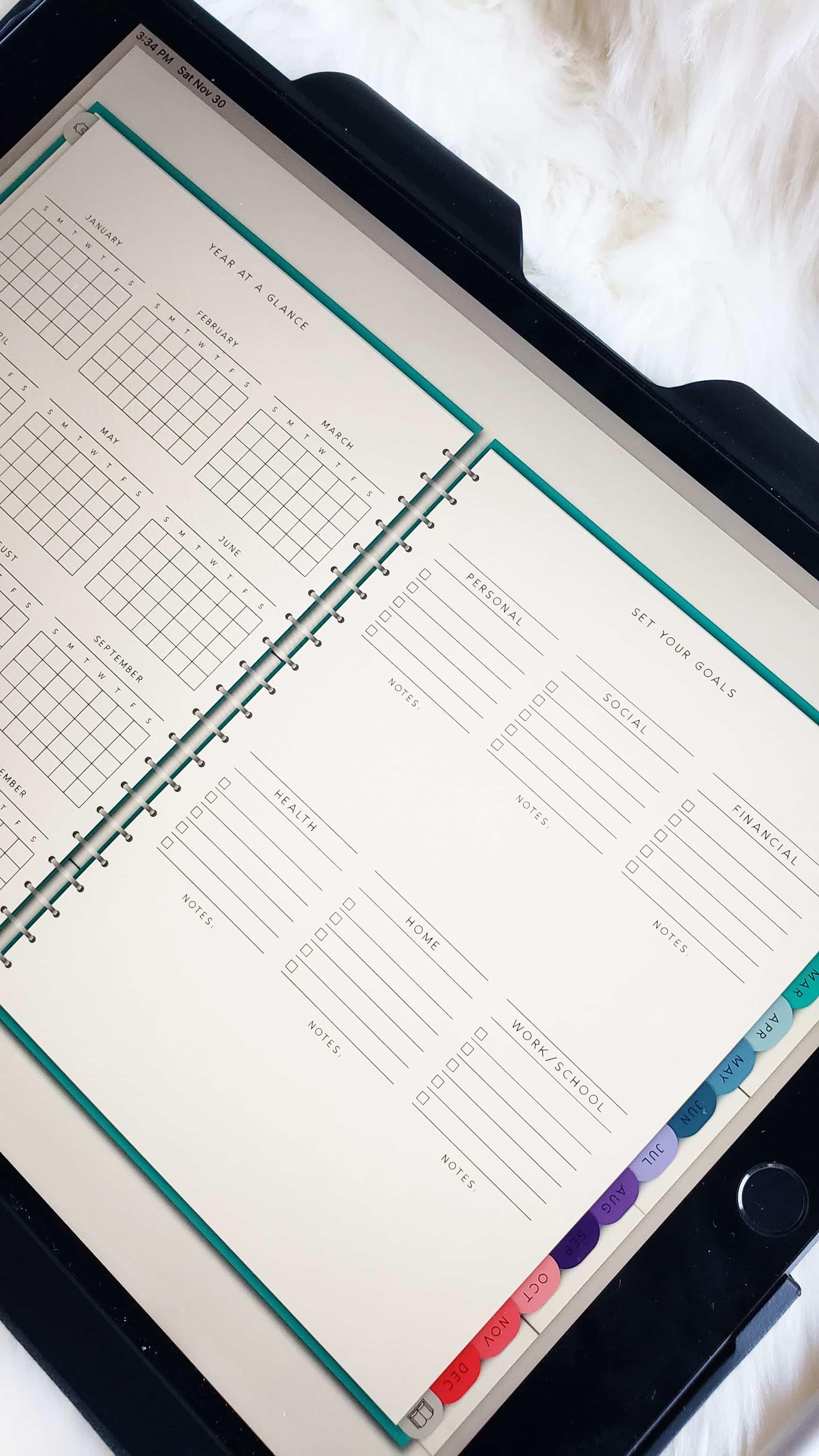 CCM Digitals digital planner review