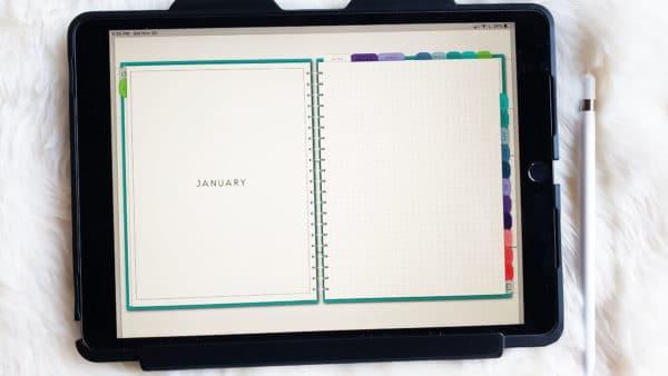 digital planning for beginners