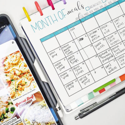Healthy Family Meal Plan | February 2020 Meal Plan