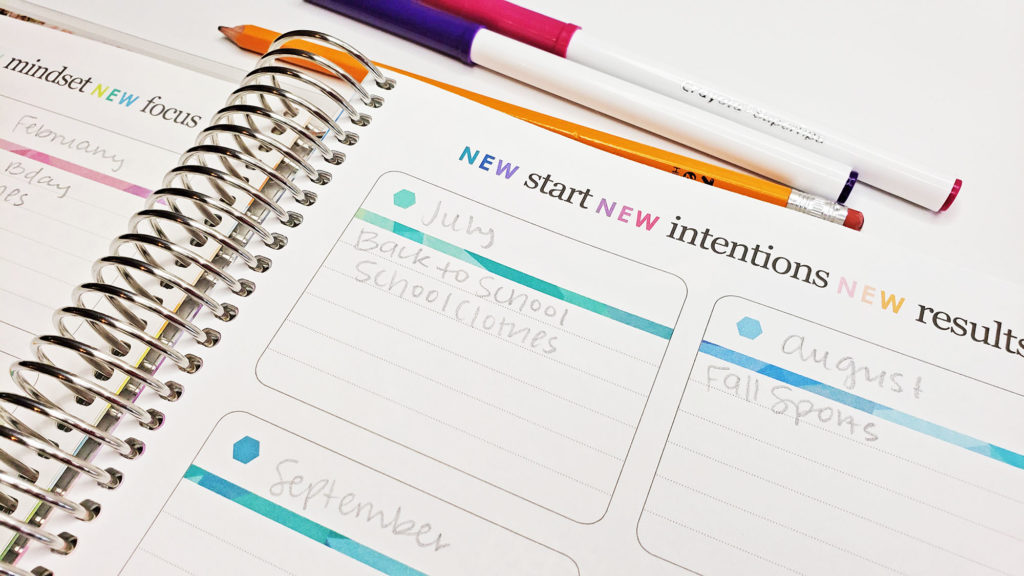 Using the Erin Condren Deluxe Monthly Planner for Budgeting