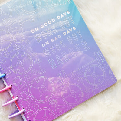 Happy Planner Fitness Planner