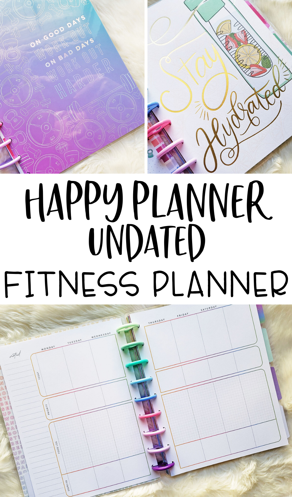 Happy Planner Fitness Planner