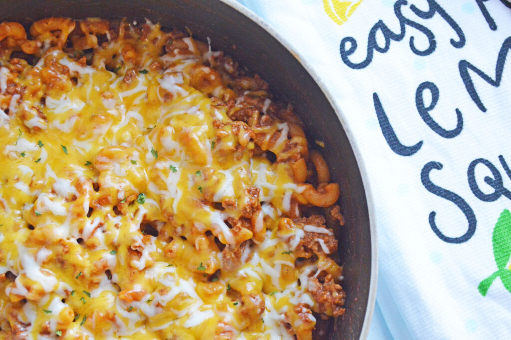 Easy One Pot Chili Mac