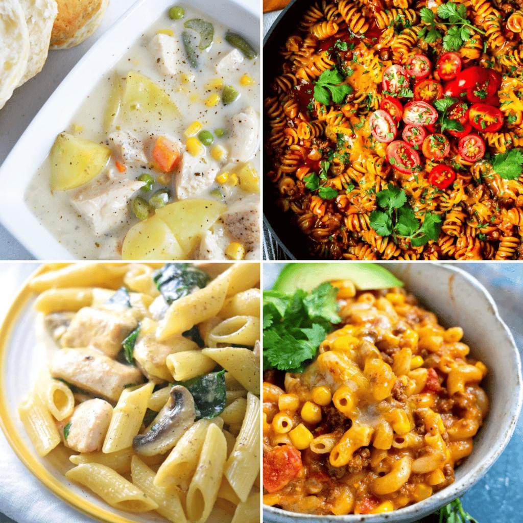 one pot dinner ideas