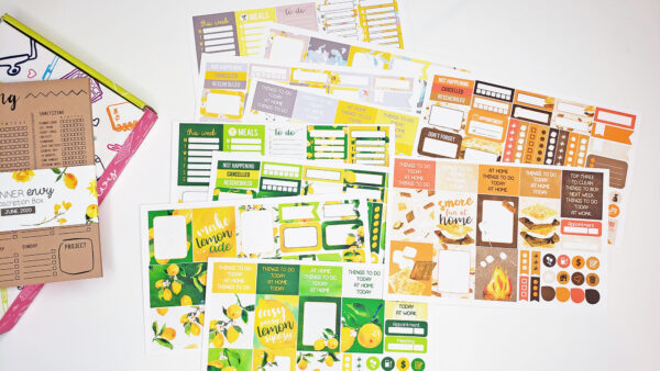 planner sticker subscription
