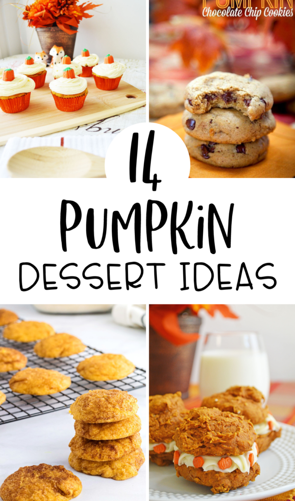 14 Pumpkin Dessert Ideas