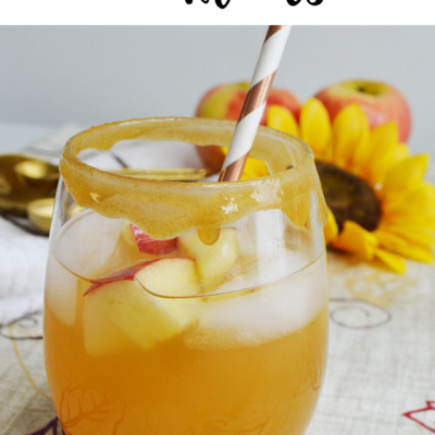 Caramel Apple Cocktails for Fall