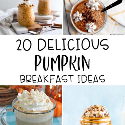 20 Pumpkin Breakfast Ideas