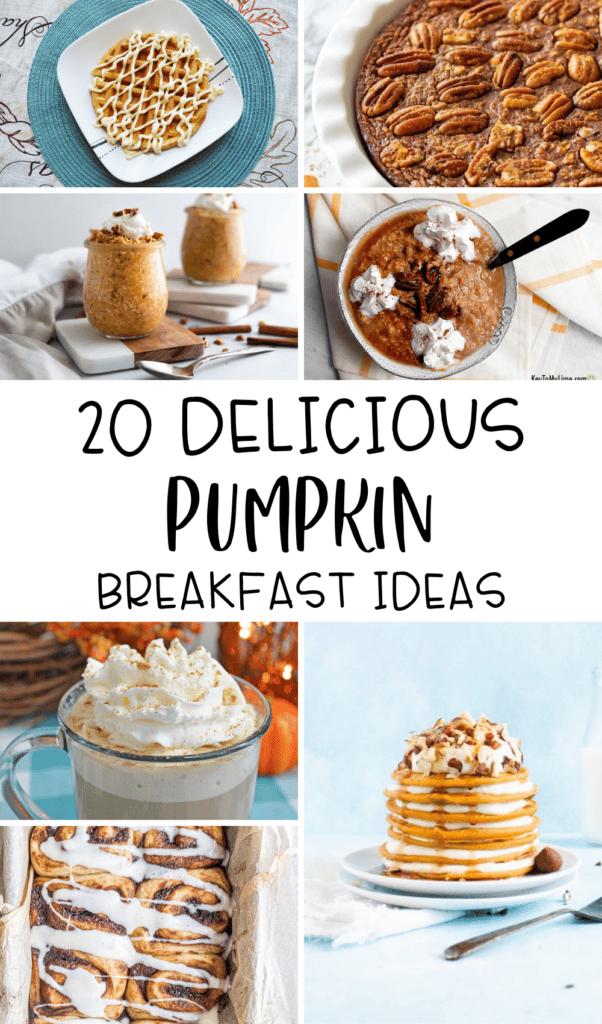 pumpkin breakfast ideas