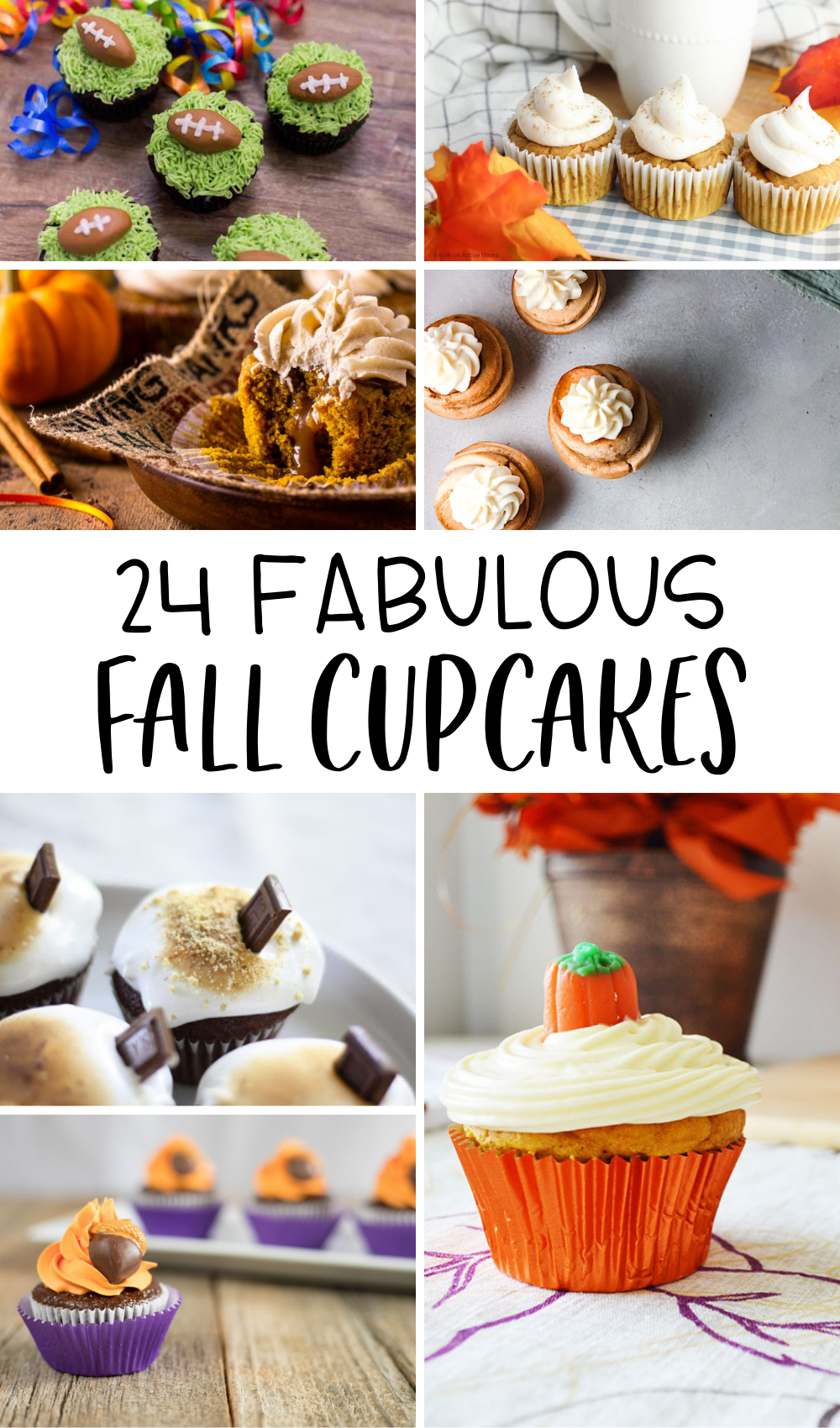 24 fabulous fall cupcakes