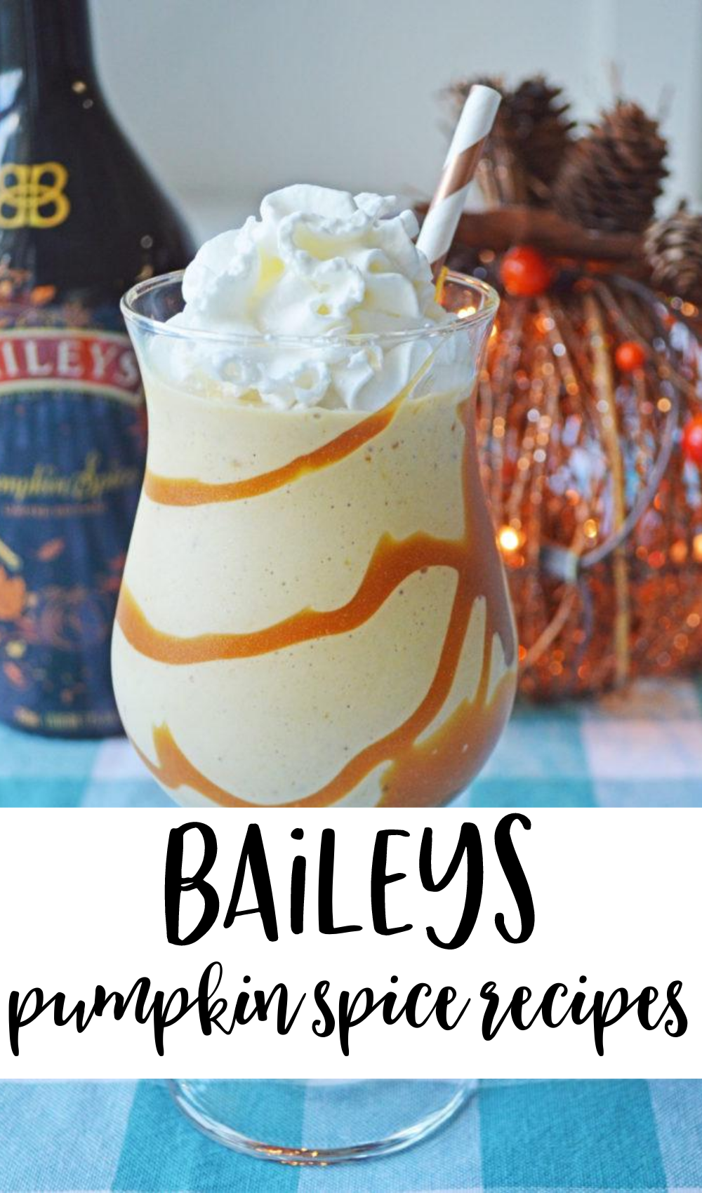 Baileys Pumpkin Spice Recipes