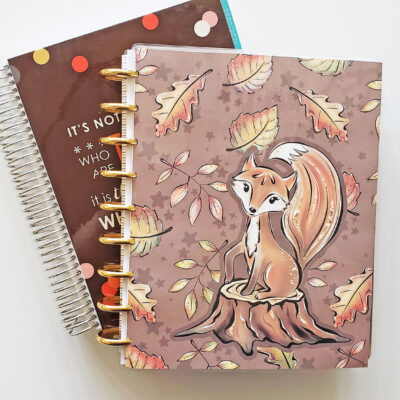 Fall Erin Condren & Happy Planner Setup 2020