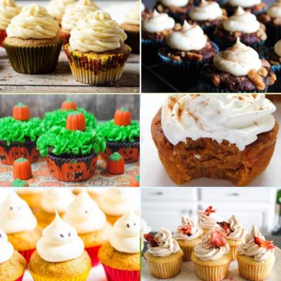 24 Fabulous Fall Cupcakes