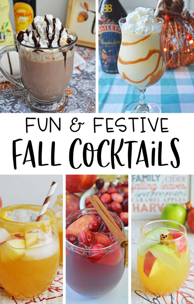 fun & festive Fall cocktails
