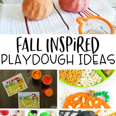 Fall Playdough Activities for Kids