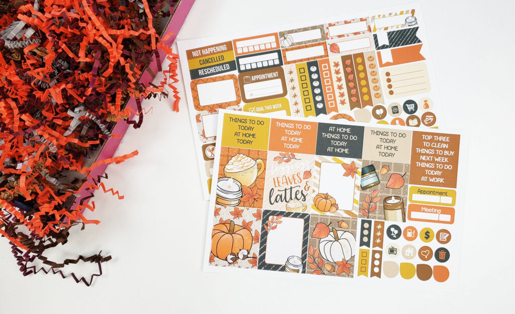 Planner Envy subscription box November 2020