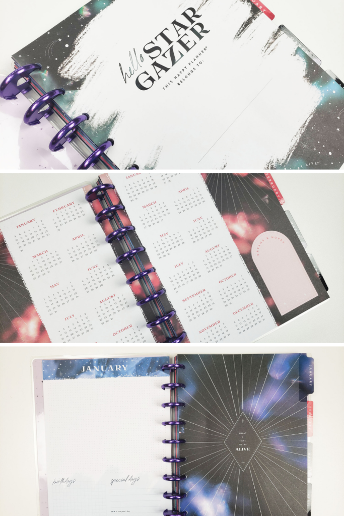 2021 Stargazer Happy Planner