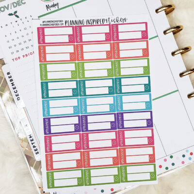 Free Printable Appointment Planner Stickers