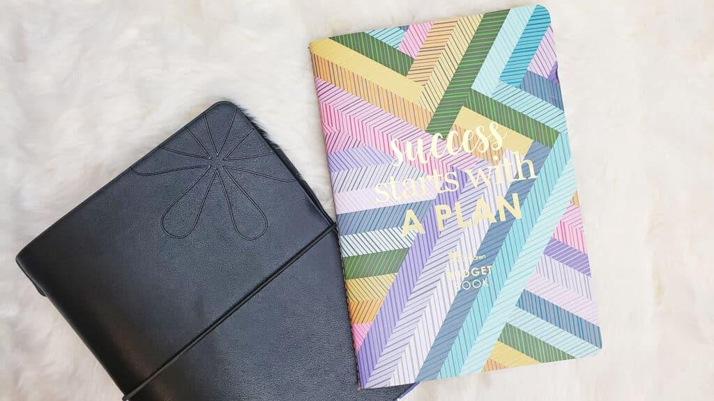 Erin Condren petite budget book and planner folio
