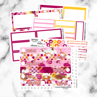 Printable Planner Sticker Membership- Behind the Scenes
