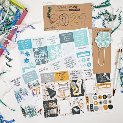January Planner Envy Box 2021
