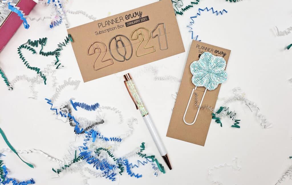 January Planner Envy Box 2021
