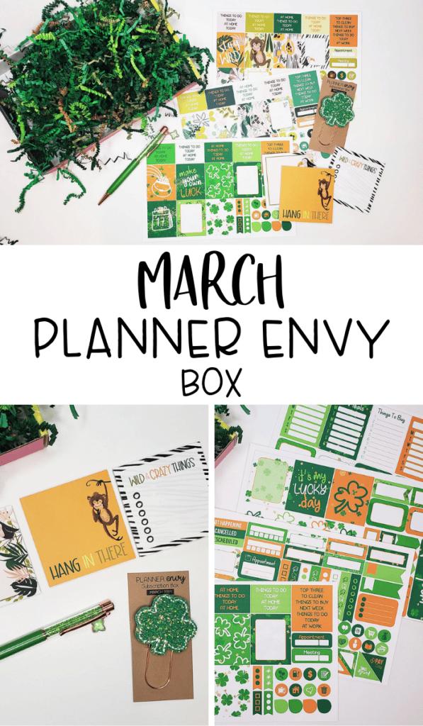 March Planner Envy Box