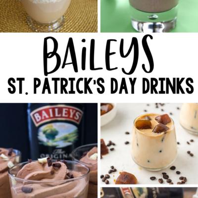 Baileys St. Patrick's Day Drinks