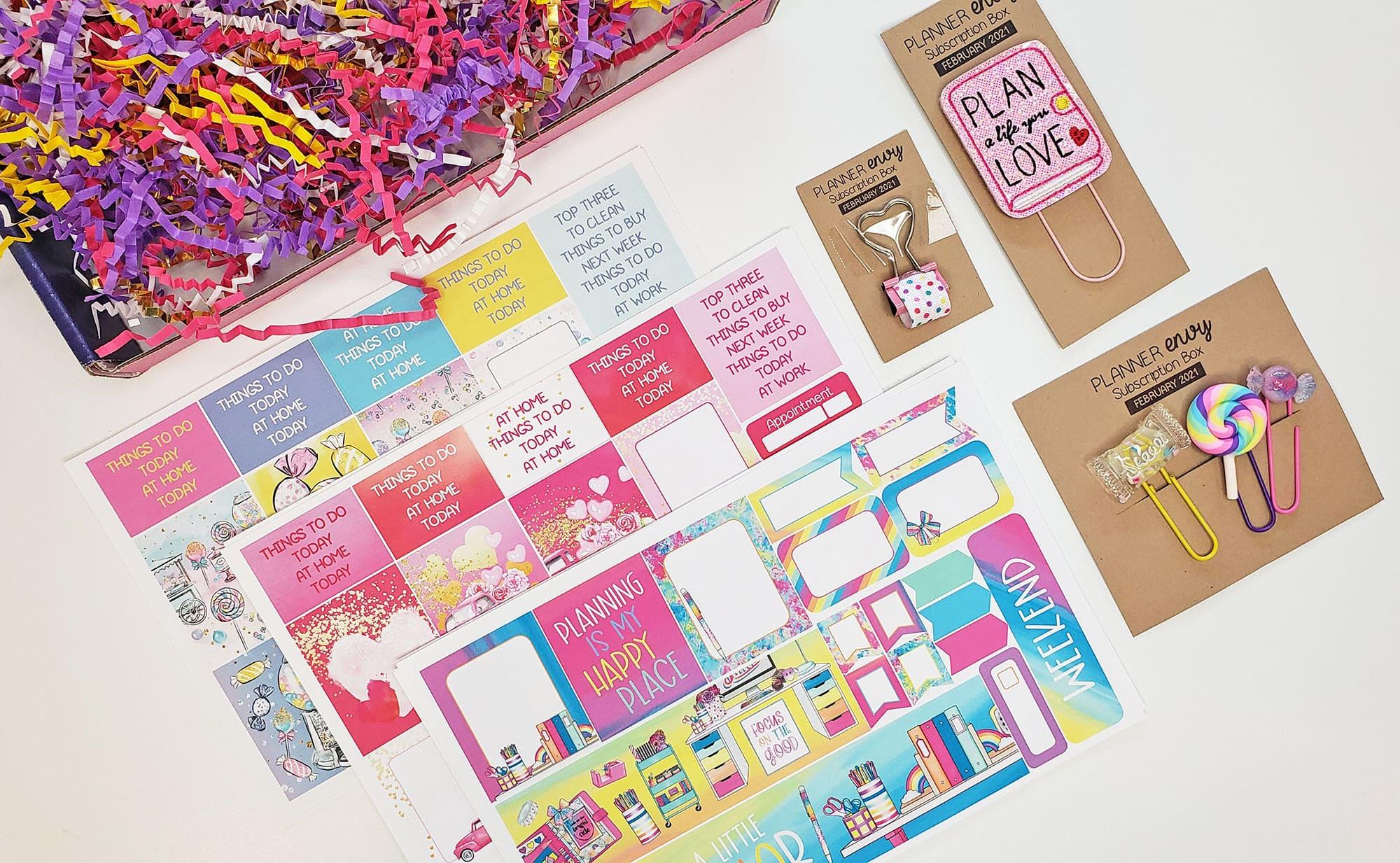 February Planner Envy Box