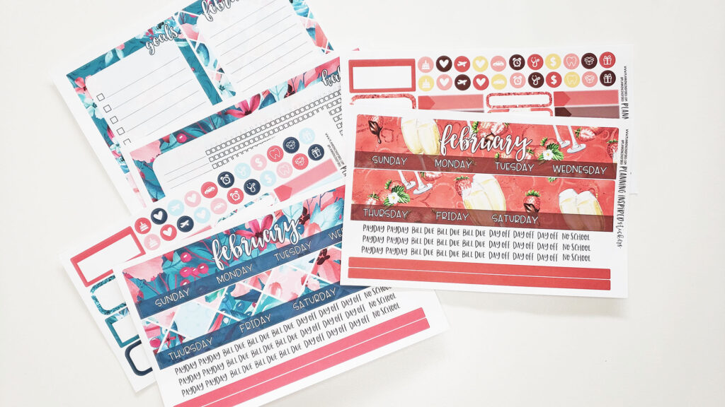 February Planner Stickers | New Releases!