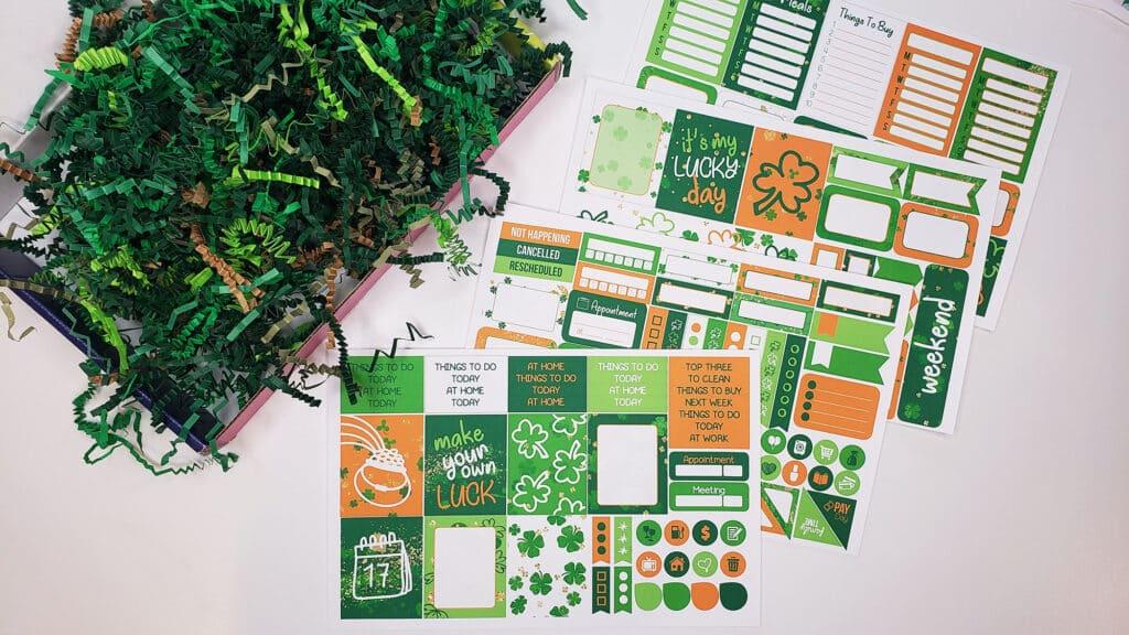 Planner Envy sticker kit