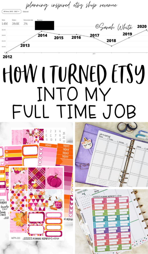 Making a Living off Etsy | How I Turned Etsy into My Full Time Job