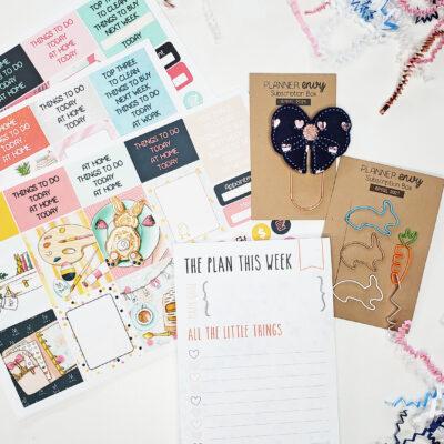 April Planner Envy Box